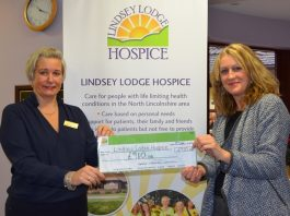 Daredevil daughter raises funds for Lincs hospice