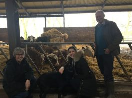 Victoria Atkins MP visits Brackenborough Hall Farm