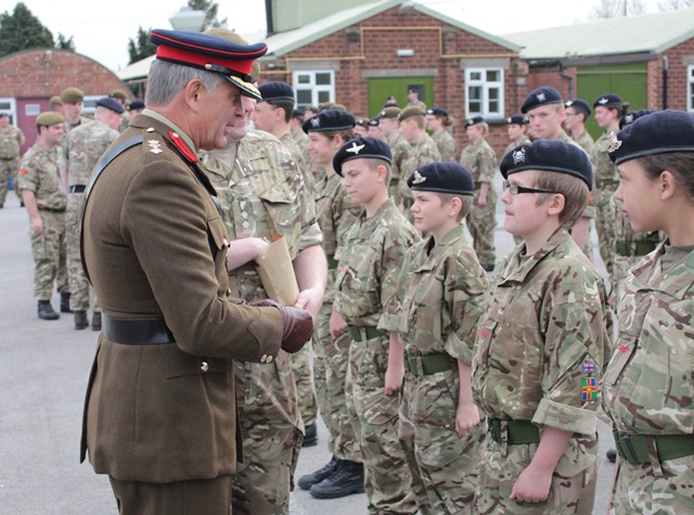Lincolnshire Army Cadet Force celebrates centenary