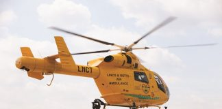 Runners take to London Marathon in aid of Air Ambulance