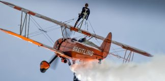 Wingwalkers to wow crowds at Scampton Airshow