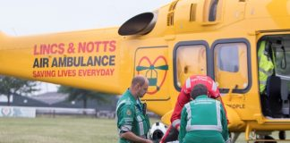 Charity's latest helicopter saves 64 lives in first month