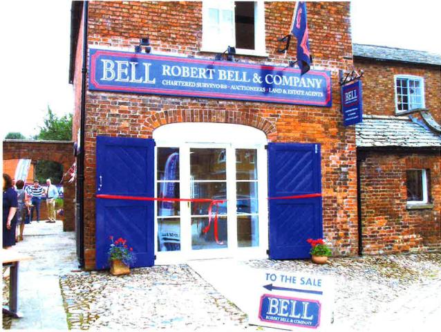 Robert Bell officially opens new office