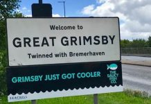 Saucy makes Grimsby cooler