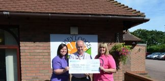 £600 boost for Scunthorpe hospice