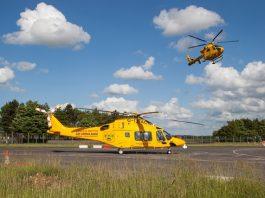 Lincs & Nots Air Ambulance up for three awards