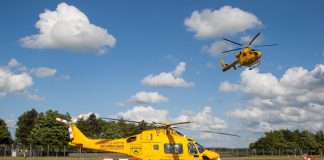 Lincs & Nots Air Ambulance up for three awards