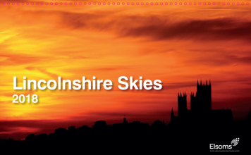 Calendar of Lincolnshire skies raises funds for Air Ambulance