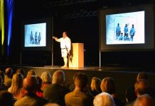 Polar explorer talk funds Lincs & Notts Air Ambulance for a day