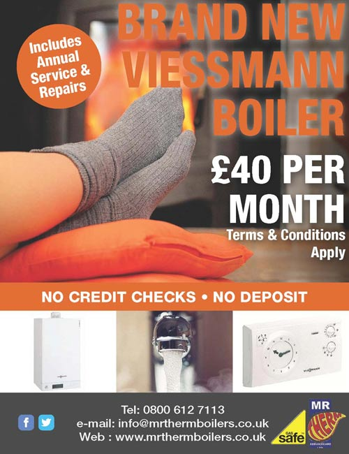 Boilers for Life - Mr Therm - Lincolnshire Today